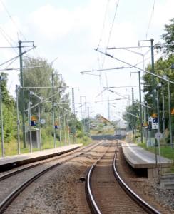 Bahnstrecke Hof-Dresden